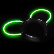 Knicklicht Haarreif-Ohren grün