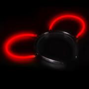 Knicklicht Haarreif-Ohren rot
