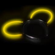 Knicklicht Haarreif-Ohren gelb