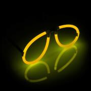 Knicklicht Spaßbrille, gelb