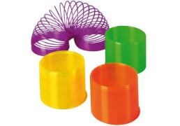 Neon-Spirale einfarbig