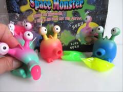Schleim Monster farblich sortiert
