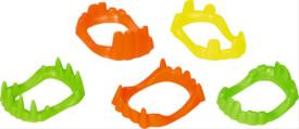 Die Spiegelburg - Gruselgebisse Wild+Cool, 8 Formen in 3 Neonfarben, sortiert (nicht frei wählbar)