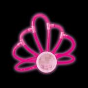 Knicklicht Diadem, pink