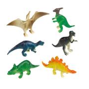 8 Mini-Figuren Happy Dinosaur
