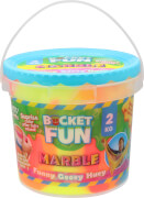 Bucket Fun, 2 kg Schleim Marble, Original Slimy