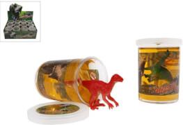 Schleim Dinosaurier mit Figur sortiert