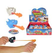 TOITOYS Finger-Schleuder Hai, 3-fach sortiert