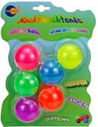 Sticky Balls glow in the dark