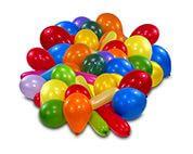 10 Latexballons sortiert