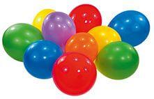 10 Latexballons rund 25,4 cm/10''