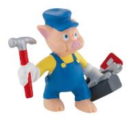 Bullyland Walt Disney Schlau 3 kl. Schweinchen, ab 3 Jahren.