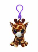 Ty Clip - Glubschi's Beanie Boo's - Giraffe Safari Glitzeraugen braun 8,5 cm