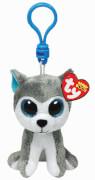 TY Key Clip Hund Slush (Beanie Boo's), Plüsch, ca. 6x6x10 cm