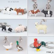 Depesche 7780 Animal Love Schlüsselanhänger  - Bauernhoftiere