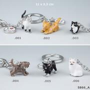 Depesche 5866 Animal Love Schlüsselanhänger  - Katzen