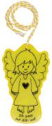 Die Spiegelburg 10431 Bunte Geschenke - Schutzengel-Reflektor Ich pass auf dich auf!, gelb