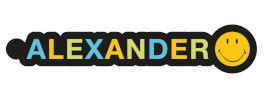 NICI Smiley For You - Anhänger ''Alexander'' mit Karabiner