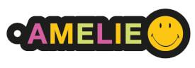 NICI Smiley For You - Anhänger ''Amelie'' mit Karabiner