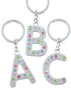 Depesche 1064 Schlüsselanhänger, Alphabet - bunte Steine