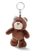 NICI Schlüsselanhänger Bär braun 10cm