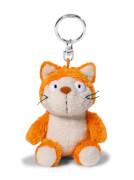 NICI Katze Hungry orange Schlüsselanhänger  10 cm