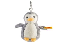 Steiff Schlüsselanhänger Pinguin, grau/weiß, 8cm