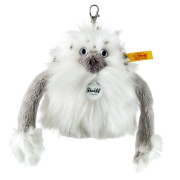 Steiff Anhänger Nrommi Yeti, weiß/grau, 10 cm