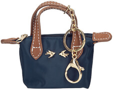 Depesche 6994 Trend LOVE Anhänger Miniatur Tasche dunkelblau