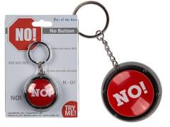 Soundbutton ''NO'' Schlüsselanhänger