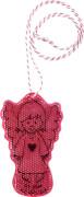 Die Spiegelburg 15030 Bunte Geschenke - Schutzengel-Reflektor Ich pass auf dich auf!, pink