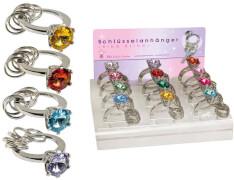 Schlüsselanhänger Ring bling (12)