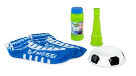 Foot bubbles starter Set by Messi - blau, grün, orange, rot - Seifenblasen