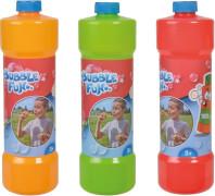 Bubble Fun Seifenblasen Flasche, 1l, 3-s.