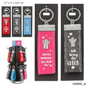 Depesche 10890 Schutzengel Glücksfilz Schlüsselanhänger