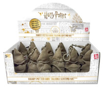 YuMe Harry Potter 4''/10CM Mini Sorting Hatw/ Clip on ( with Sound Funktion) 12 pieces / PDQ