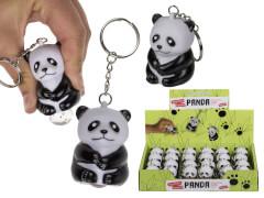 Schlüsselanhänger Squeeze Panda