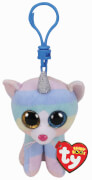 TY HEATHER CAT W/HORN - BOO KEY CLIP