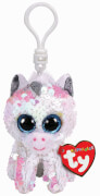 TY DIAMOND WHITE UNICORN FLIPPABLE - CLIP