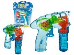 Seifenblasenpistole mit Seifenlauge + LED