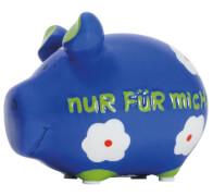 Sparschwein ''Nur für mich'' - Kleinschwein von KCG - Höhe ca. 9 cm
