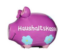 Sparschwein ''Haushaltskasse'' - Kleinschwein von KCG - Höhe ca. 9 cm