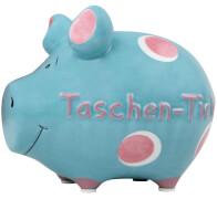 Sparschwein ''Taschentick'' - Kleinschwein von KCG - Höhe ca. 9 cm