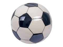 Keramikspardose Fußball