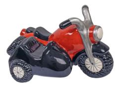 Keramikspardose Motorrad