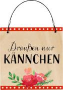 Die Spiegelburg - I love my Garden - Kleines Gartenschild, sortiert. (nicht frei wählbar)