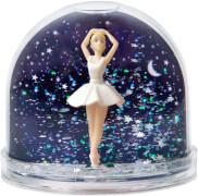 Schneekugel Sterne Photo Ballerina Swan