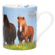 Depesche 4447 Horses Dreams Becher mit Golddruck