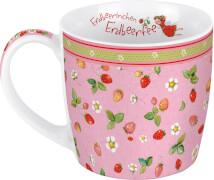 Tasse. Erdbeerinchen - Allover