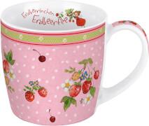 Tasse. Erdbeerinchen - Erdbeerbusch